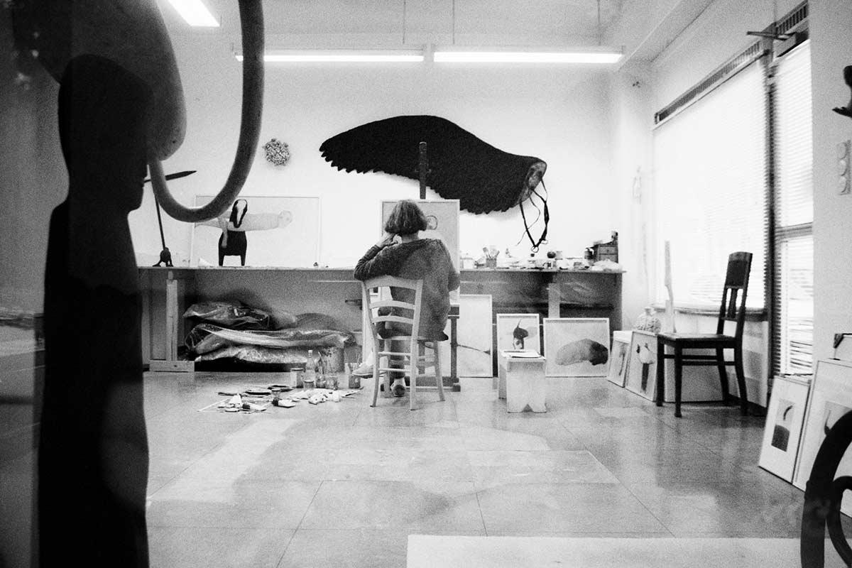 Atelierszenen